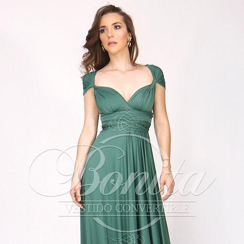 Vestido Convertible Largo