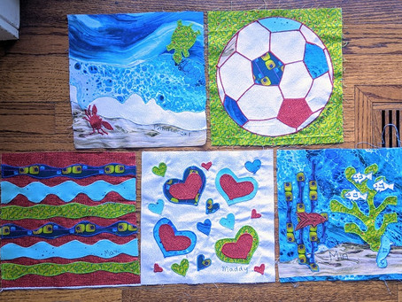 5 beautiful squares