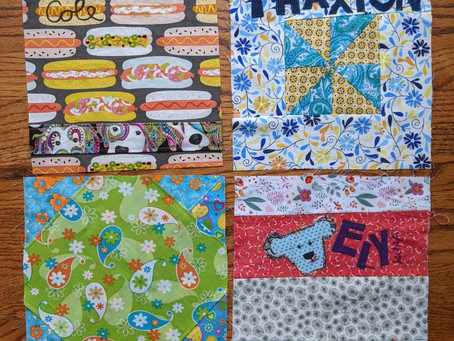 First 8 quilt squares :)