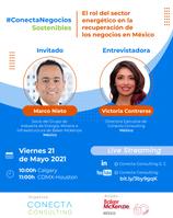 Evento: #ConectaNegociosSostenibles, 21 de mayo 2021