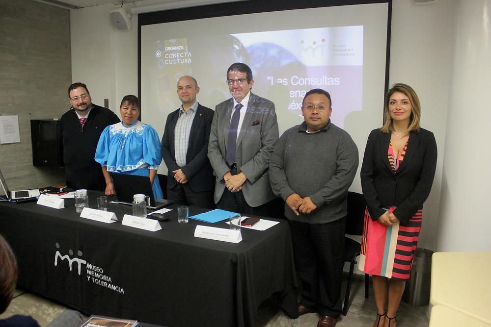 Las Consultas Indígenas en México, 25 septiembre 2018. Derechos Reservados