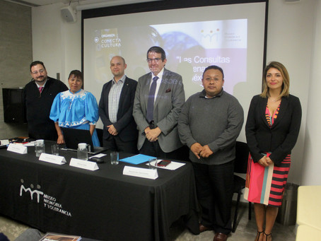 """Evento: """"Las Consultas Indígenas: Balance y Perspectivas"""", 25 de septiembre de 2018,  Museo de Memor"""