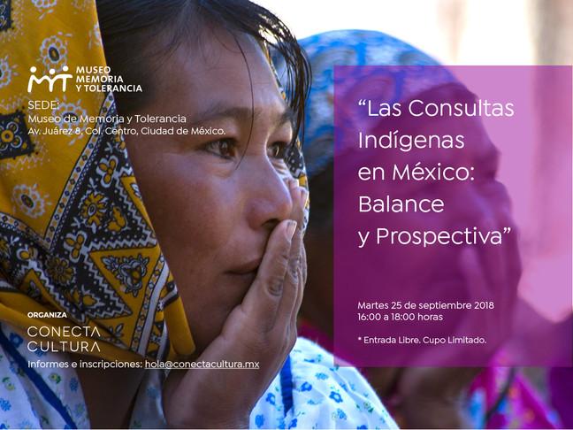 """[Próximo Evento] """"Las Consultas Indígenas en México: balances y prospectiva"""""""