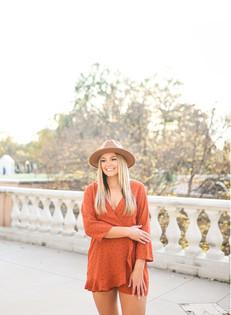 Avery | fall portraits @ the gardens