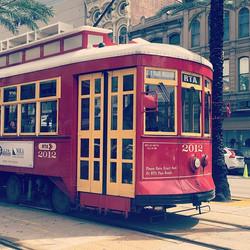 #streetcar #nola #amtrakresidency #travel #neworleans
