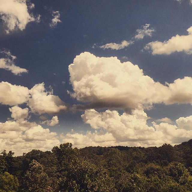 Gorgeous #clouds in the #Alabama #sky