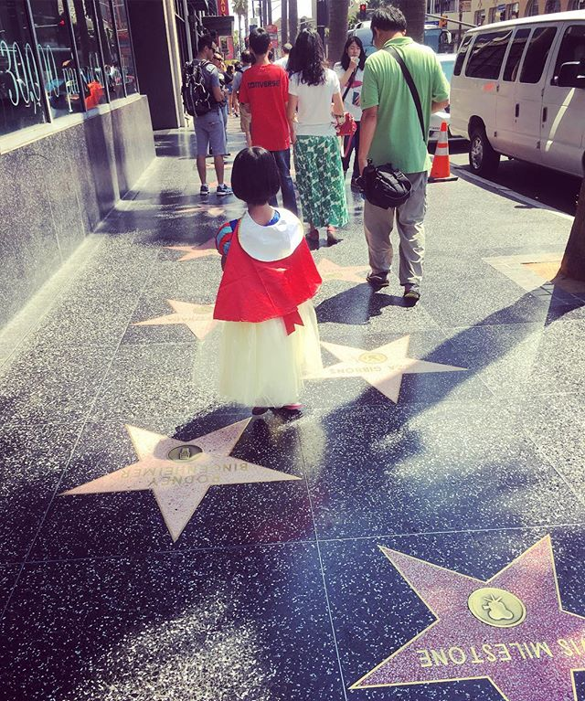 One last #la pic. You never know what celebrities you will see in #hollywood