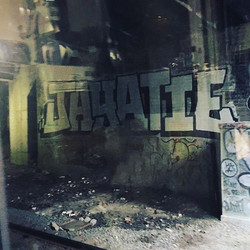 #Graffiti in #nyc #traintunnel on the way to #pennstation