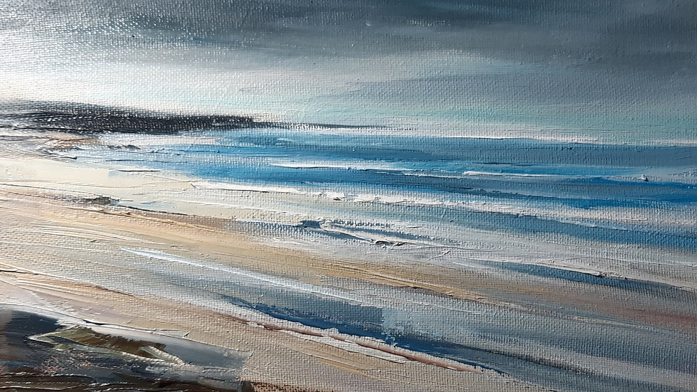 A little square of beach #3 (12x12 inch 300mmx300mm format)