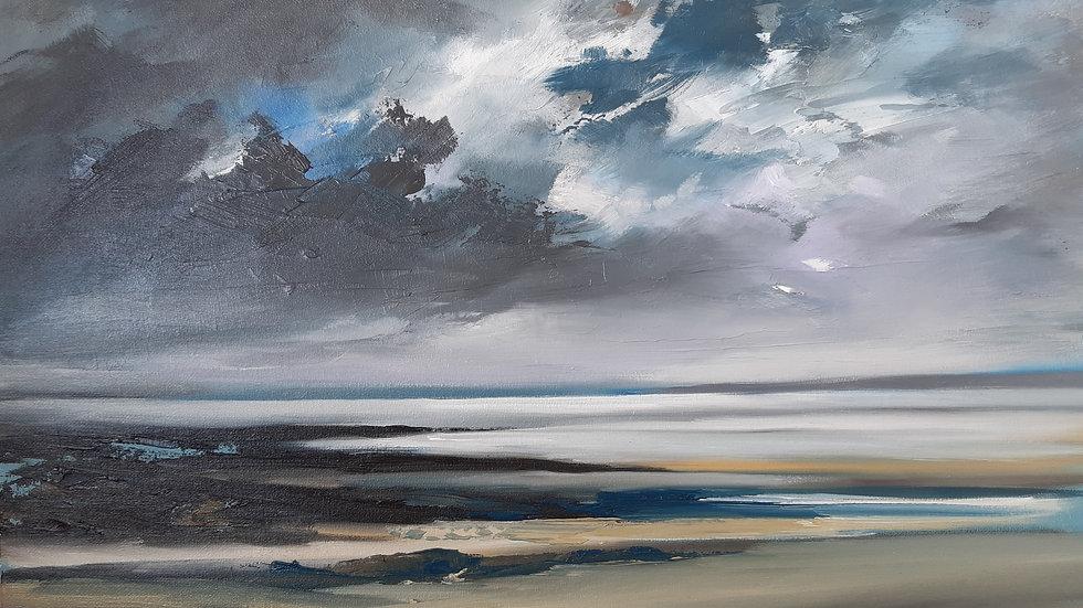 Evening light Malltaeth Sands