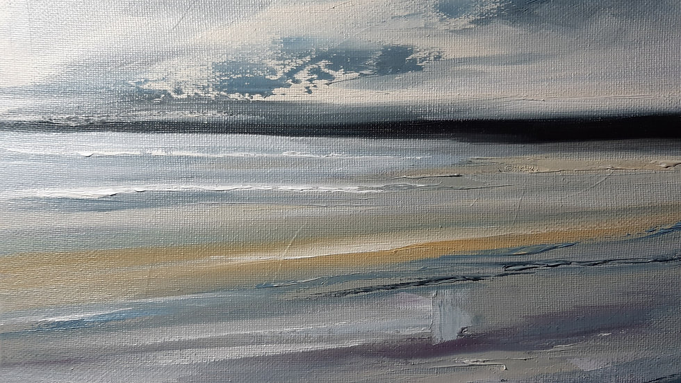 A little square of beach #2 (12x12inches 300mmx300mm)