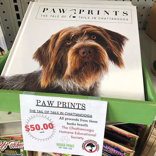 Paw Prints Coffee Table Book