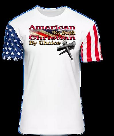 American birth Christian Choice REd Wht