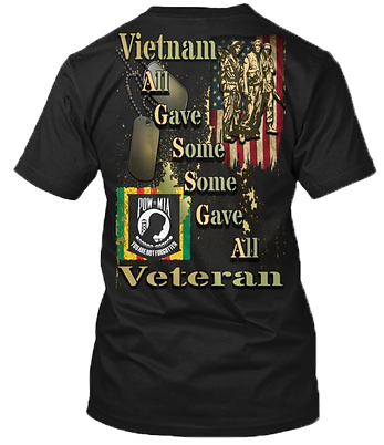 VIETNAM VETERANS ALL GAVE SOME GAVE ALL