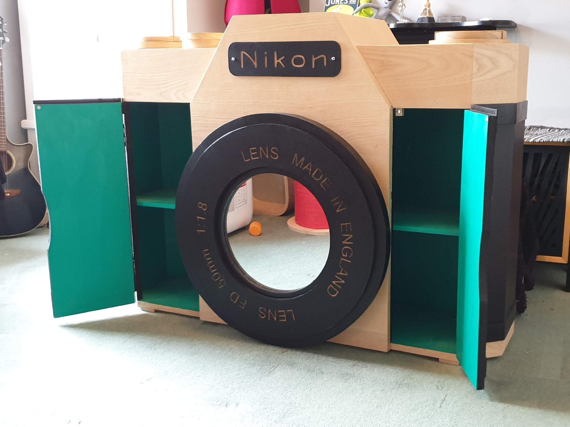 Camera cupboard