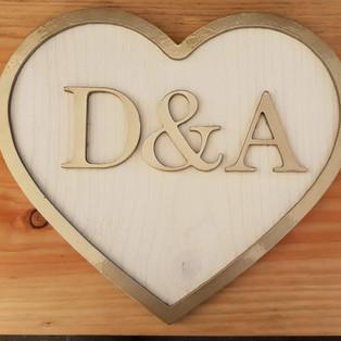 Wedding logo motif