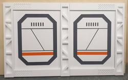 Scifi desk panels
