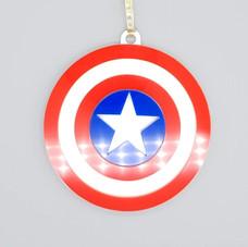 Acrylic Captain America Bauble