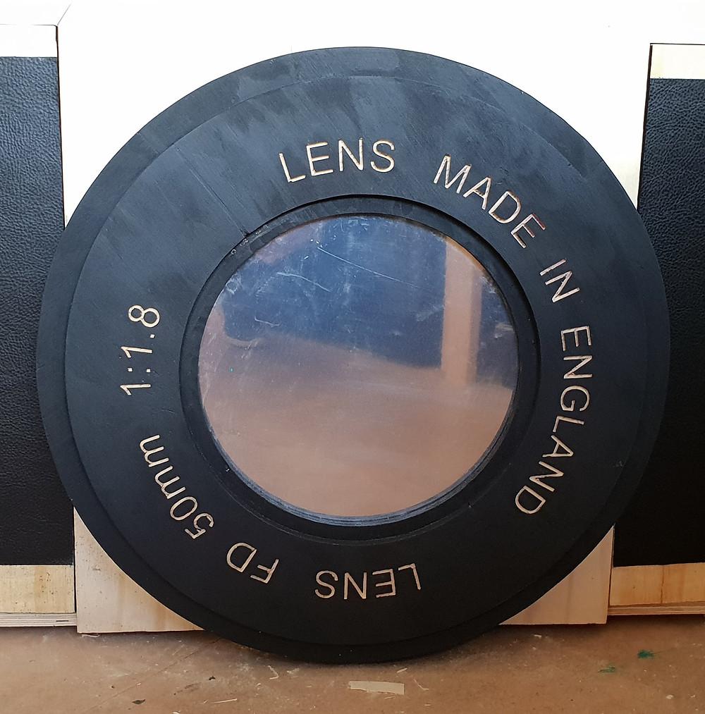 Vintage Camera cupboard Lens