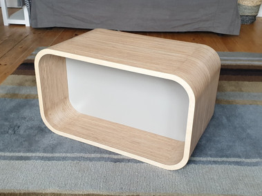 Curved Plywood table