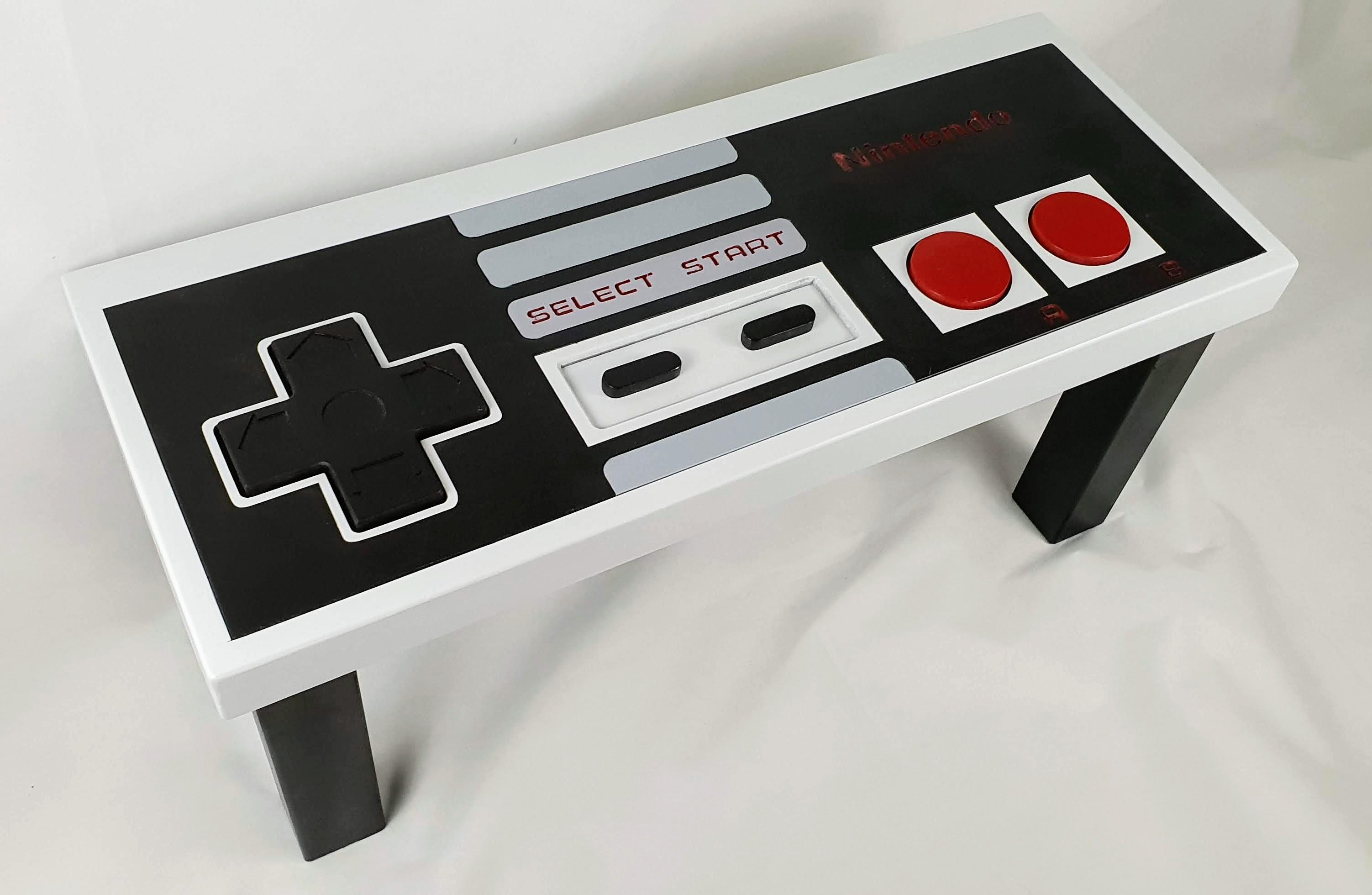 Retro Nintendo Controller Table