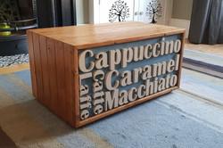 Coffee menu table 2