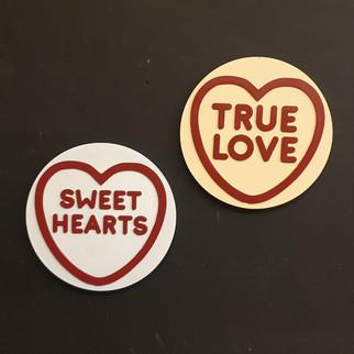 Love Heart Sweet signs