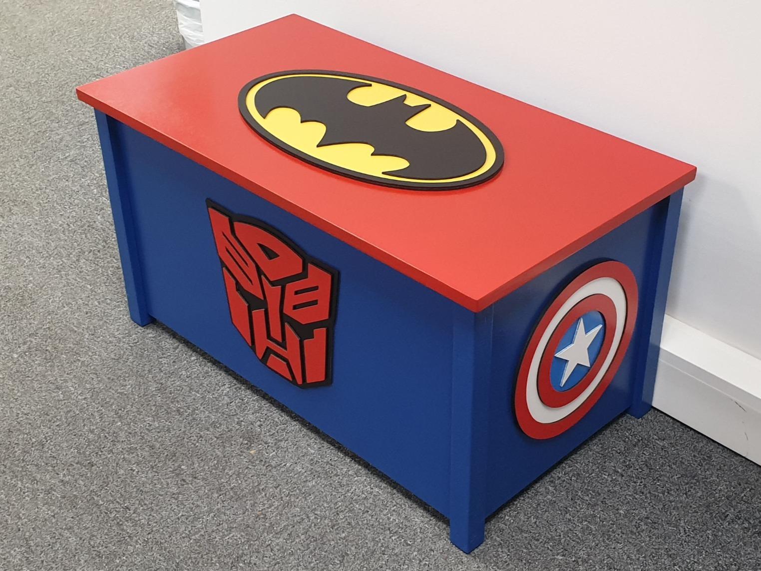 Superhero Toy Box