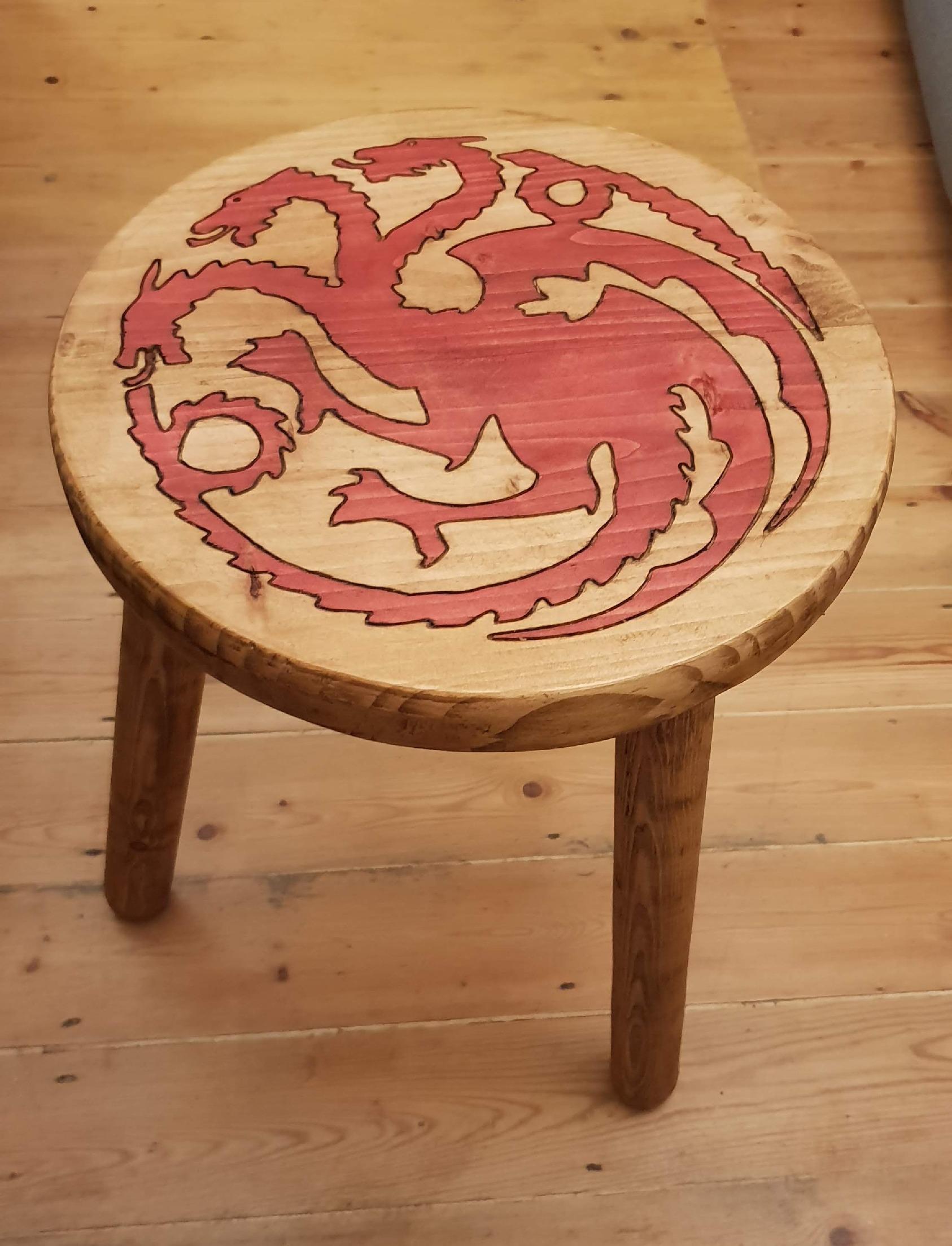 Targaryen Stool