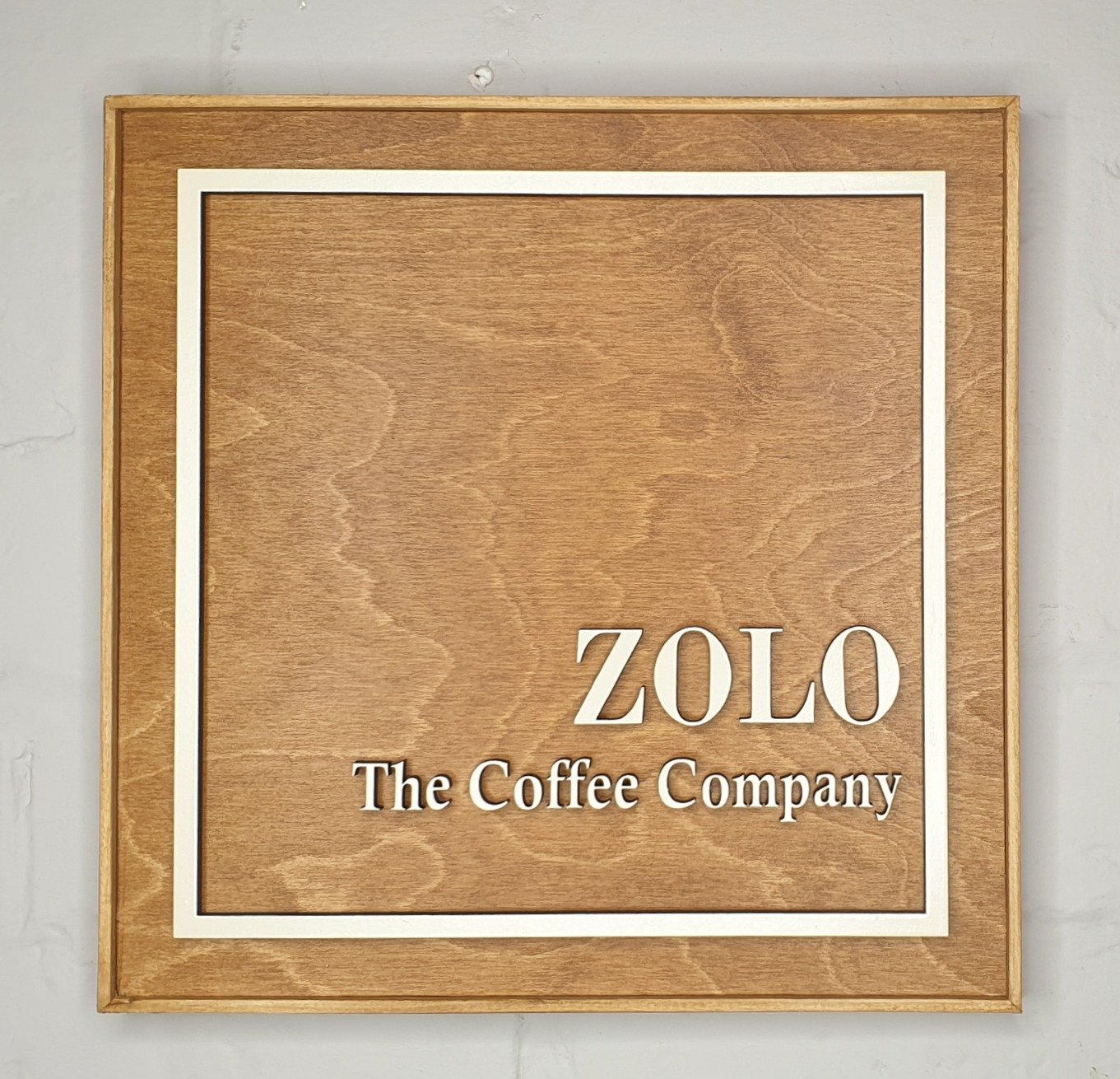 Zolo Coffee company sign