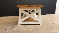 X Frame coffee table