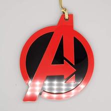 Acrylic Avengers Bauble