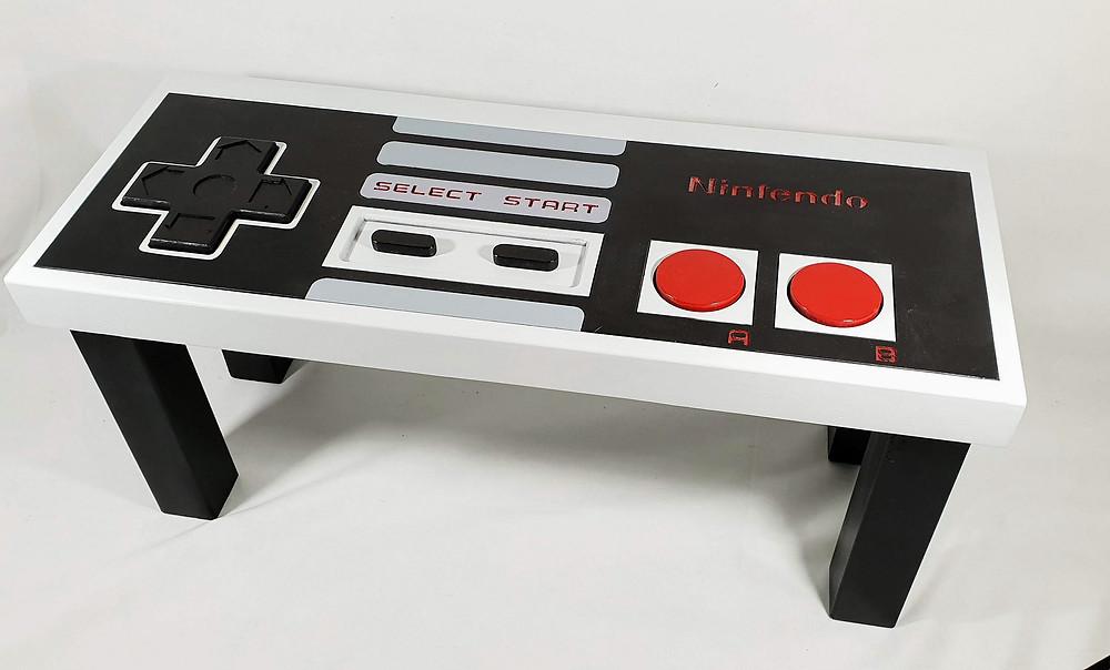 Retro Nintendo Controller Coffee Table