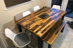 Scandal inspired dining table