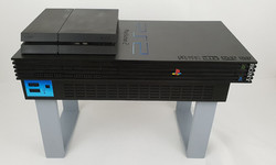 Playstation 2 coffee table 1