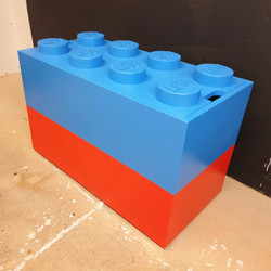 Large Lego Brick Toy Box