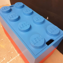 Lego Brick Toy Box