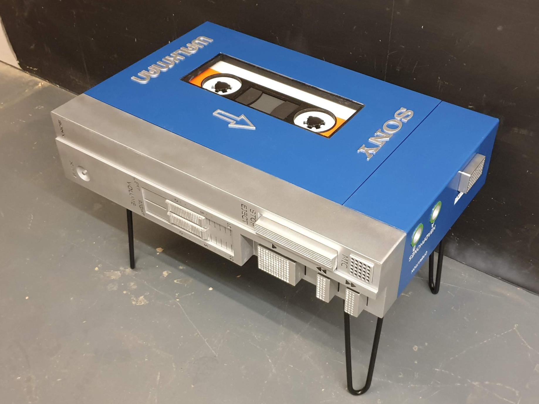 Walkman table