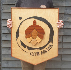Coffee & cask logo
