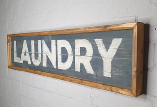 Antique Laundry sign