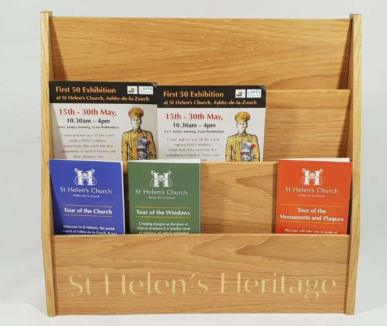 St Helens Literature holder