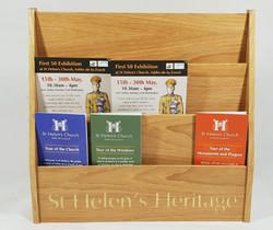 St Helens Literature holder