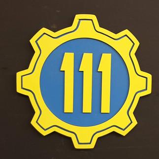 Vault 111 sign
