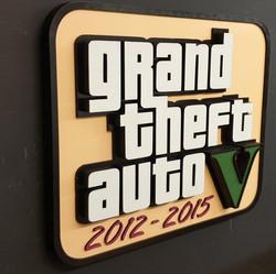 Grand theft auto sign