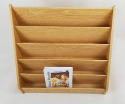 Oak Literature Holder