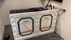 Scifi DJ room panels
