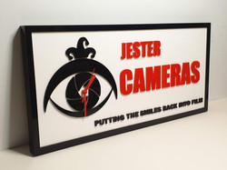 Jester Cameras clock