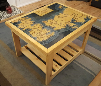 Game of Thrones table