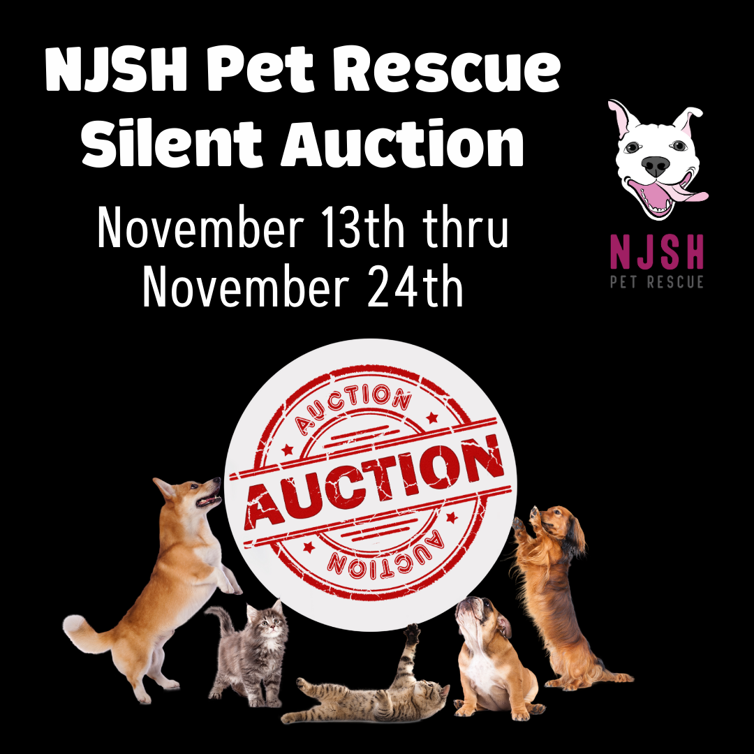 NJSH Pet Rescue Silent Auction