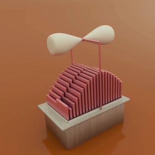 kinetic pendulum